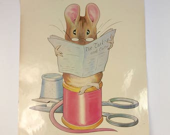 Laminated Poster of The Tailor of Gloucester by Beatrix Potter