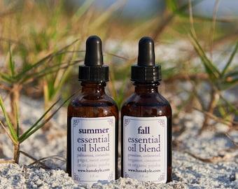 Summer into Fall Seasonal Essential Oils Set