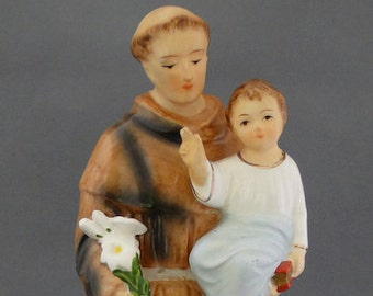 Artmark St Francis of Assisi with Baby Jesus