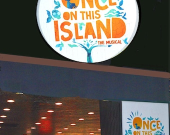 ONCE on this ISLAND  at Circle in the Square Theatre