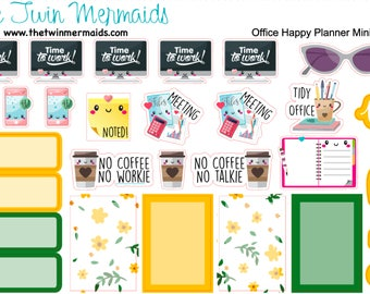 Office Weekly Layout Mini Happy Planner Planner Stickers