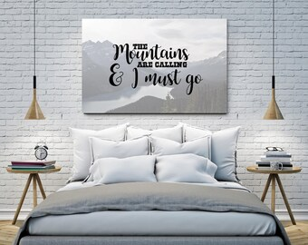 The Mountains Digital Art Print