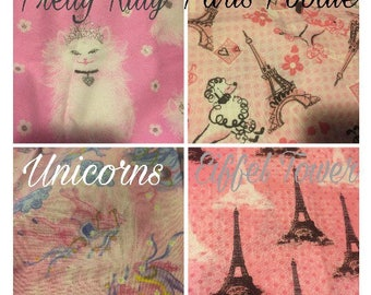 """In Progress Doll bedding sets for 18"""" dolls such as American Girl, Our Generation"""