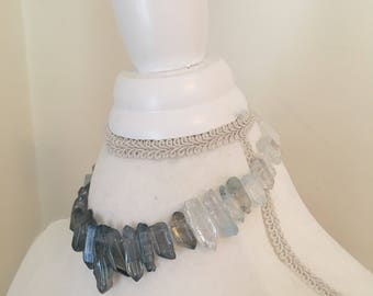 Ice dragon necklace - SALE! 30% off