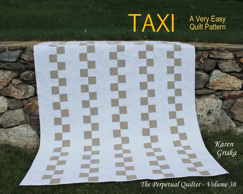 Taxi Easy Quilt Pattern Modern Quilt Pattern Wedding Quilt : wedding quilts ideas - Adamdwight.com