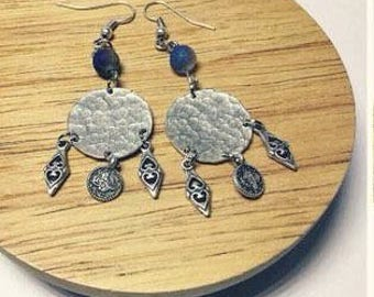 Tribal inspired with druzy agate
