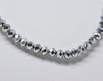 Lovely sparkling beaded necklace