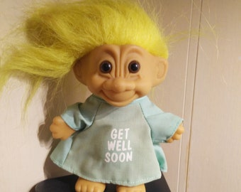 Hospital Get Well Soon Yellow Haired Russ Troll