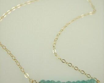 Gemstone Necklace - L & L Gemstick Necklace -