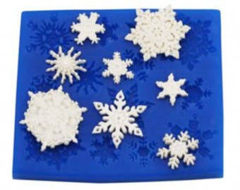 Snowflakes Set Mould