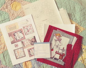 Mousepad or Trivet Quilt Kit with Sew Fabulous! Lady by Loralie Designs(R)