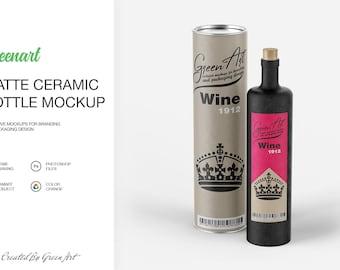 Wine Bottle Width Paper Tube