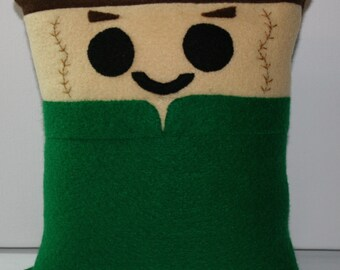 Star Trek Dr Phlox Mini Felt Cushion