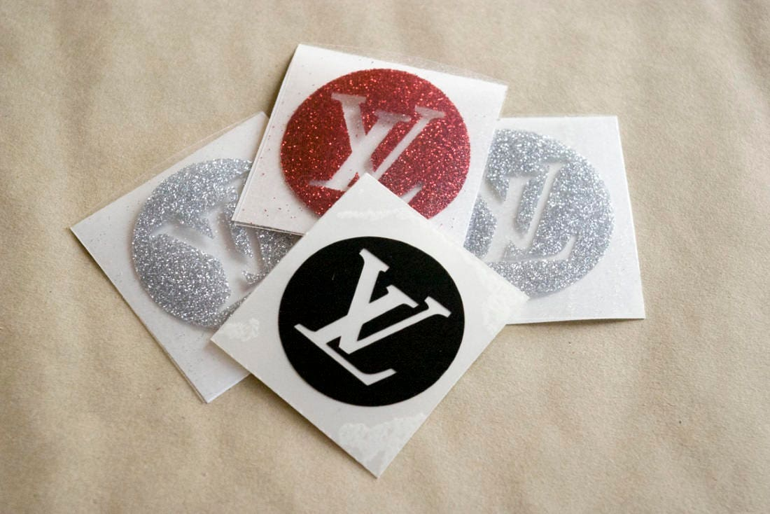 Louis vuitton iron on decal lv iron on patch vuitton glitter zoom biocorpaavc Images