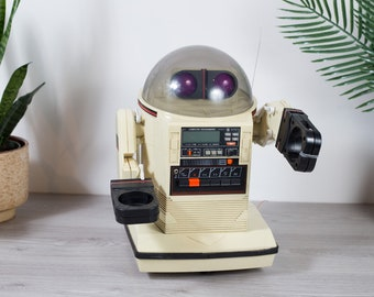 Tomy Omnibot Tape Player Deck - 1980's Vintage Collectible Clock Radio