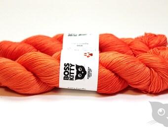 Super Saiyan - Hand Dyed/Superwash Merino/Cat's Cradle Solid