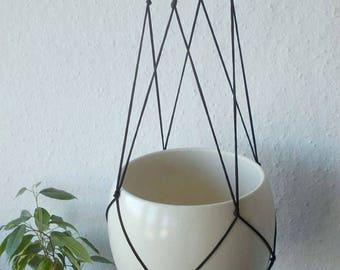 Macrame Plant hanger-MANY COLORS-31'' long-Modern Macrame Minimalist indoor plant holder-Hanging Planter-Hanging Basket