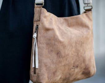 Brown Shoulder Bag, Leather Bag ,Hobo Brown leather Bag, Tote Bag, Leather Hobo Bag, Brown leather Bag