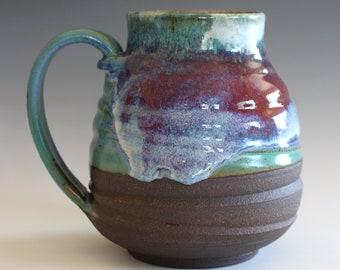 EXTRA LARGE Ceramic Mug, 32 oz, ceramic cup, handthrown mug, stoneware mug, pottery mug, unique coffee mug, ceramics and pottery