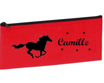 Red Horse personalized with name package