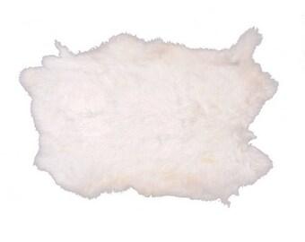 Rabbit skin - White
