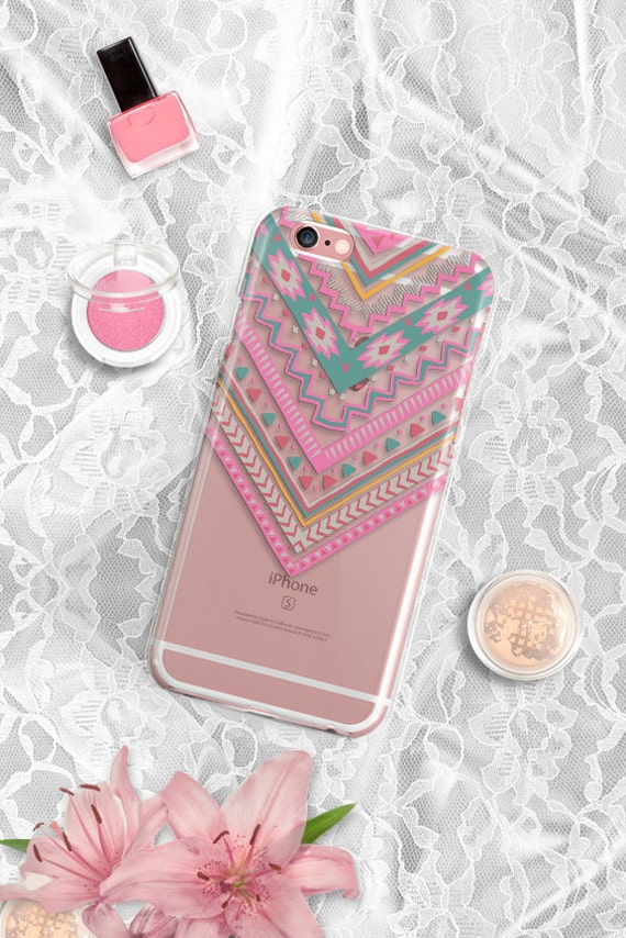 Tribal Rubber iPhone 7 Case Clear iPhone 7 Plus Case Clear iPhone 6 case Rubber iPhone 8 case Tribal iPhone 6 plus case iPhone 8 plus case
