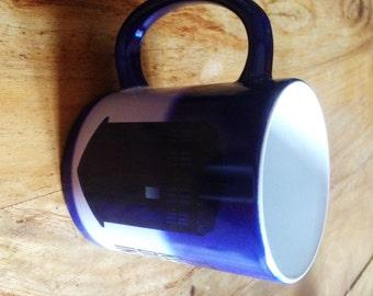Colour Changing Heat Sensitive Doctor Who Tardis Mug
