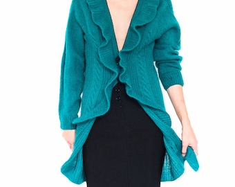 Mohair cardigan mohair sweater knit cardigan long cardigan cardigan sweater ladies cardigan mohair jacket fluffy sweater womens cardigans
