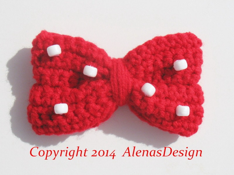 Crochet Pattern 098 - Baby Minnie Mouse Hat - Mickey Mouse Hat Baby ...