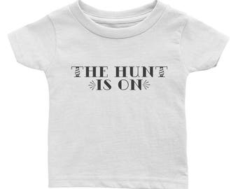 The hunt is on easter jersey tee