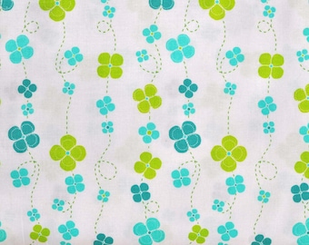 SIX DOLLAR SALE - Lush twirling blossoms in sky - 1 yard