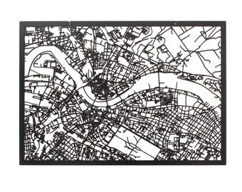 3d city map Dresden, 59x42cm (73x53cm)