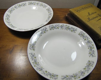 Dynasty Fine China - Shallow Bowls - Set of Two (2)