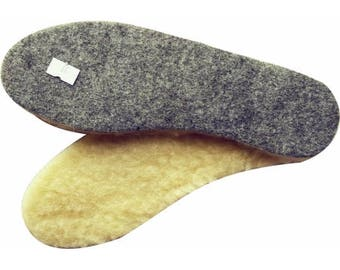 Thick Felt&Wool Insoles. Use winter footbeds to keep cold from creeping in through the soles of your shoes - Seriously. Free US shipping.