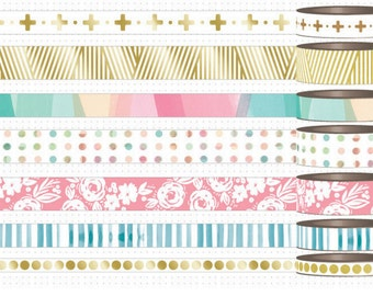 Me and My Big Ideas - Hello Life - 24 Inch Washi Tape  Samples Create 365 Collection  Happy Planner Mambi