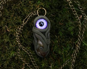 Citrine Sea Monster Necklace