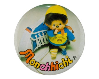 """2"""" Monchhichi vintage pin almost new condition"""