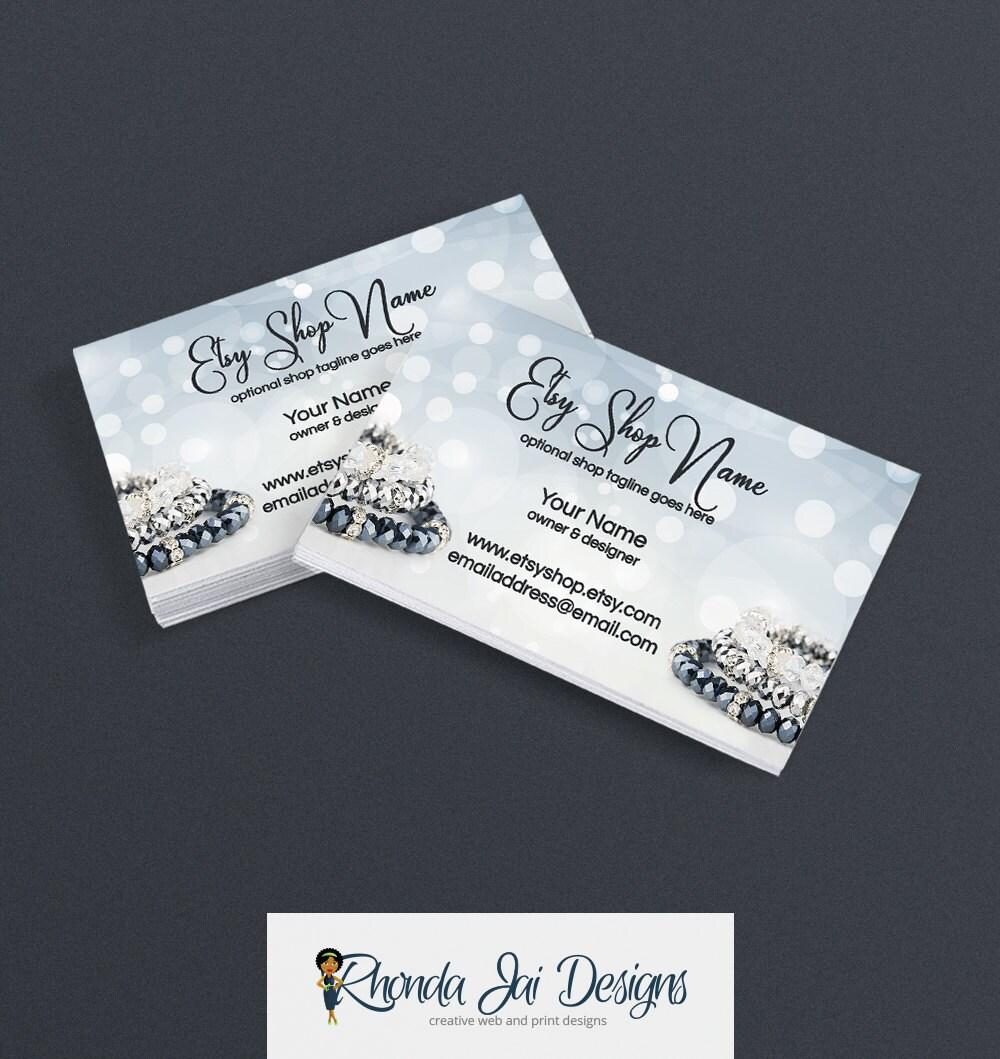 Business Cards For Etsy Shop Printable Business Card Design