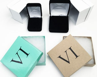 Gift Packaging & Velvet Boxes