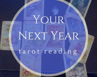 Your Next Year Tarot Reading, Year Ahead, Personal Power Reading, Video Tarot Reading, Spiritual Insight, Intuitive Reading, Psychic Reading