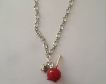 Toffee Apple necklace