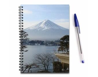 Mount Fuji Notebook