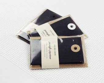 10 Black Paper Tags | Gift Tags, Paper Tags For Packaging, Gift Labels, Wedding Favors