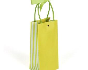 Sacs-cadeaux vert anis - paquet de 30