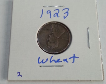 1923 Wheat Penny, Great Date for Collectors !!