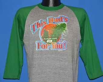 80s Humboldt County 1984 This Bud's For You t-shirt Medium