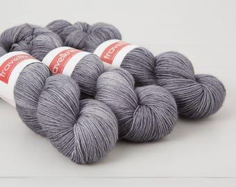 BFL Supersock British Bluefaced Leicester / Nylon sock yarn - London Skies