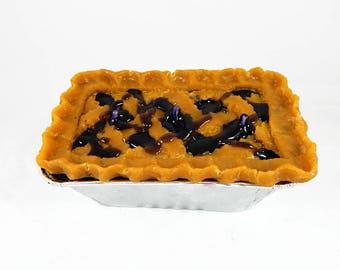 Blueberry Cobbler Dessert Candle