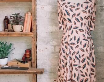 Marion Liberty Print Dress - robe rose blush - floral - mode printemps - robe occasionnelle - petite robe - Liberty of London robe