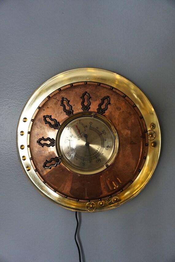 Wall Art Decor Steampunk Lamp